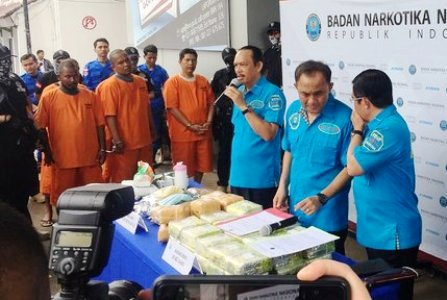 Gembong Pengedar Sabu 38 Kg Aceh Tewas