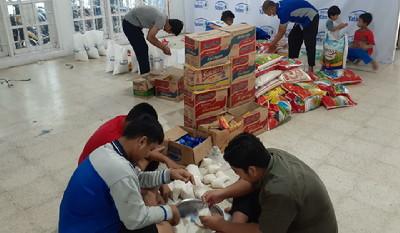 Rumah Yatim Kolaborasi dan Alfamart Gelar Penyaluran Bantuan kepada 163 Penerima Manfaat