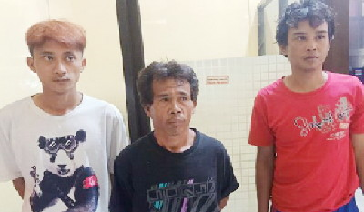 Ganteng-ganteng Tiga Pelaku Pencuri Ternak di Cianjur Ini Meresahkan Warga