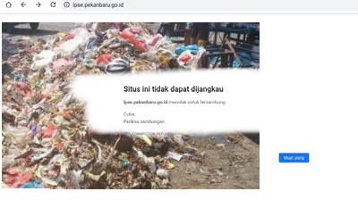 "Diduga Terkait ""Fee"" LPSE Kota Pekanbaru Plinplan, Lelang Sampah Gagal Lagi"