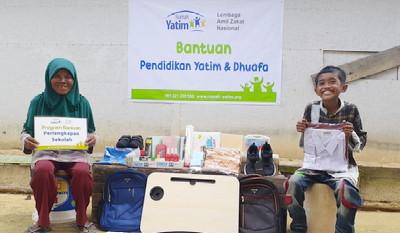 Bantuan Pendidikan Lanjutan Rumah Yatim Riau Kembali Disalurkan Pada Syaiful Amri