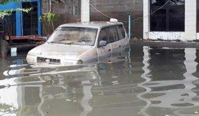 Banjir Terparah di Jakarta Ketinggian Hingga 4 Meter