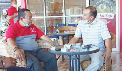 Kalapas Rohul Coffee Morning Bersama Organisasi Wartawan