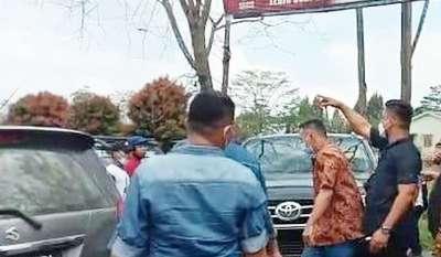 KLB Partai Demikrat di Sibolangit Rombongan Sumut Diusir