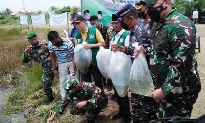 Hari Air Sedunia Menteri KLHK Sumbang 25.000 Benih Ikan ke Dumai, Ini Pesan Siti Nurbaya