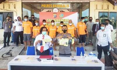Kapolres Bengkalis Ungkap 3 Lokasi Penangkapan Bandar Sabu