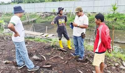 Poktan Jaya Tani Kunjungi Pusdiklat DPP Aliansi Pewarta Pertanian Indonesia Riau