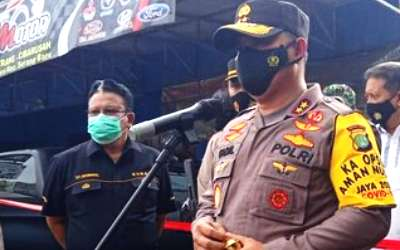 Desa Sukasari Cibarusah Saksikan Penangkapan Pelaku Teror dan Bom