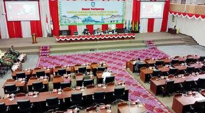 Gubernur Laporkan LKPJ TA 2020 dan Sampaikan Dua Ranperda dalam Sidang Paripurna DPRD Kepri