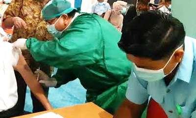 Ribuan Lansia di Pekanbaru Dimankan Dari Virus Corona