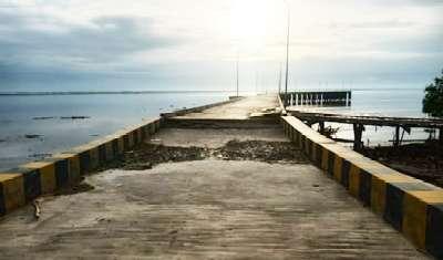 Wartawan Diburu Preman Rohil Liput Pelabuhan Internasional Bagansiapiapi yang Nyaris Ambruk