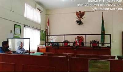 Perwakilan Polda Riau dan KPK Absen, Sidang Gugatan Praperadilan Dugaan SPPD Fiktif Massal Dewan Rohil Ditunda