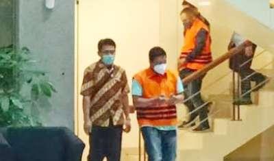Wako Tanjungbalai Tersangka Suap dan Korupsi Pagi Ini Tiba Di Kantor KPK