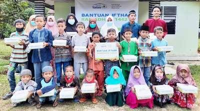 Rumah Yatim Sediakan Hidangan Sahur dan Buka Puasa untuk Yatim dan Dhuafa di Pekanbaru