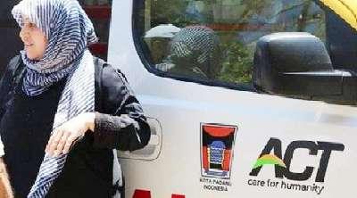 Ambulan Bantuan Pemko Padang Viral Dimedsos Palestina