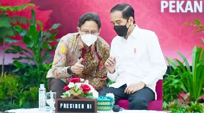Presiden Jokowi Dorong Kebersamaan Tangani Pandemi Covid-19 di Daerah