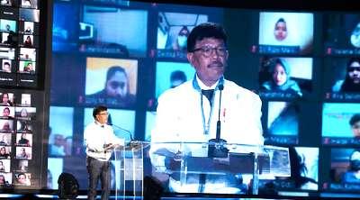 Presiden Luncurkan Program Literasi Digital Nasional Bersama Ratusan Ribu Peserta Daring