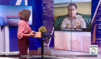 """Kepala Suku ARIMBI dalam Bincang Selamat Pagi Indonesia Metro TV, """"Kita Sudah Lapor Pencemaran Kawasan PLG"""""""