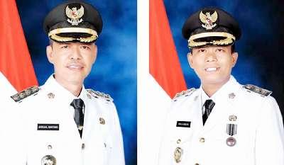Pasca Dilantik Gubernur Riau, Afrizal Sintong dan H. Sulaiman Jadi Bupati-Wabup Rohil
