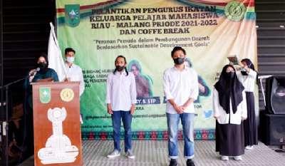 IKPMR Malang yang Mewadahi Mahasiswa Asal Riau Dilantik