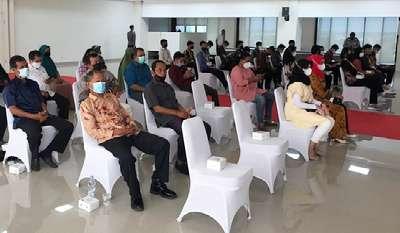 Tahap Pemeriksaan Kesehatan ke II 804 Calon Siswa Bintara dan Tamtama TA 2021 Polda Riau Lolos