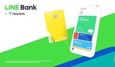 Aplikasi dan Kartu Debit LINE Bank Siap Masuk Pasar Indonesia