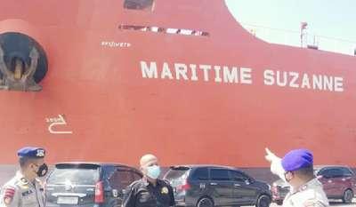 2 ABK Kapal Pengangkut CPO Berbendera China di Dumai Positif Covid-19