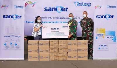 Godrej Donasikan Ribuan Produk Saniter ke RS Darurat Covid-19