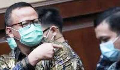 Terima Suap 25,7 M, Edhy PrabowoDivonis 5 tahun Penjara Denda Rp 400 juta