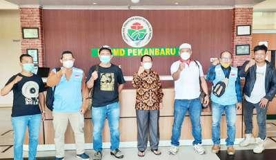 Saat Tim DPP APPI Riau Kunjungi BPPMD Pekanbaru di Kampar Ini Pesan Romi