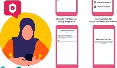 Akun Sosmed Diretasan, Ini Cara Mengaktifkan Fitur Wajib Anda Seperti Facebook, Instagram dan WhatsApp