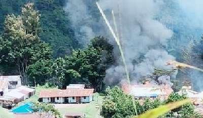 KKB Lakukan Teror, Pasum dan Sekolah di Distrik Kiwirok Dibakar
