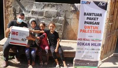 Aksi Solidaritas Kemanusiaan untuk Palestina Digalang 19 Organisasi di Rohil