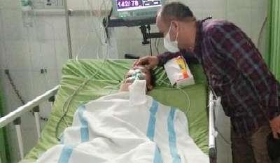 Kasatres Polres Musi Rawas Galang Donasi untuk Siswa SD Patah Tulang Leher