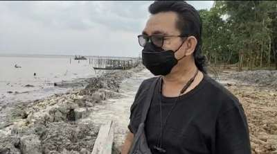 Benam Sampah Dipinggir Pantai Kata DLH Tak Langgar Aturan, ARIMBI: Biar Krimsus Polda Riau Menentukan