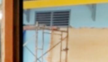 "PL Proyek Rehab Kantor UPT PKB Dishub Pekanbaru ""Terciduk"" Tanpa Plang"