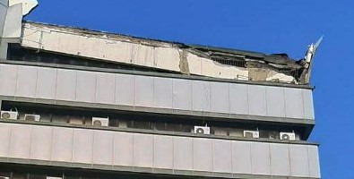 Gedung Lantai Atas Lembaga Sensor Film Tiba-tiba Rubuh