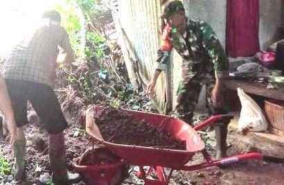 Akibat Hujan Banjir dan Longsor Mendera Wilayah Jateng, Belasan Rumah Tertimbun