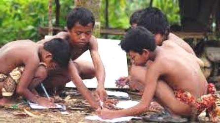 Yayasan Anak Rimba Indonesia Apresiasi Dua Anak Suku Talang Mamak Lolos Bintara Polri