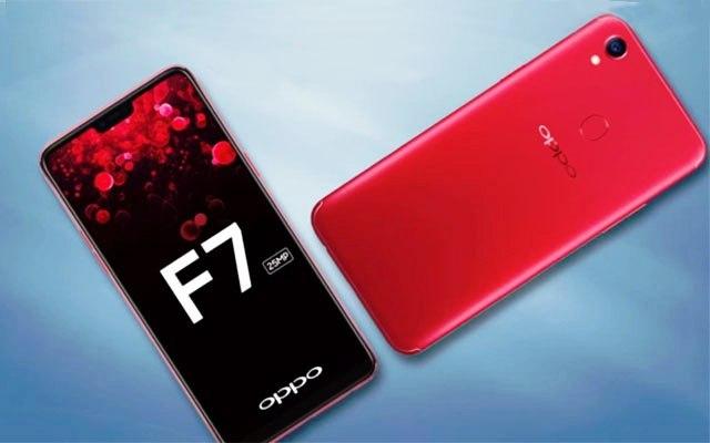 Oppo F7 Perangkat Smartphone AI Selfie Mengusung Kamera 25 Megapixel