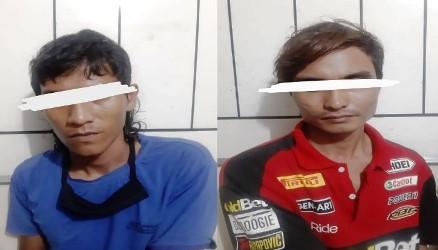 Dua Tekong Spead Boat Nyambi Edarkan Sabu Ditangkap Anggota Polres Bengkalis