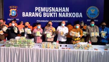 Kapolda Riau Tegaskan Akan Berantas Bandar Narkoba Hinga Akar-akarnya