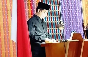 DPRD Terima Ranperda PJP APBD 2019 Pemkab Bengkalis