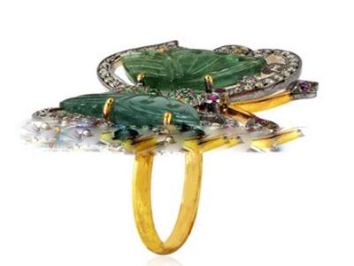 cincin-kupukupu-permata-hijau--berlian-disumbangkan-ke-museum