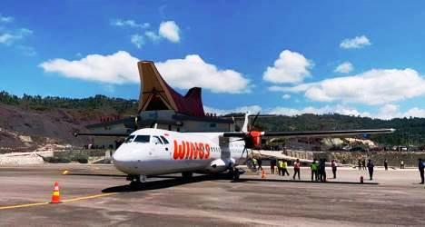 Uji Kemampuan Pesawat dan Rute Evaluasi di Wilayah Tana Toraja, Wings Air Daratkan ATR 72 di Buntu Kunik