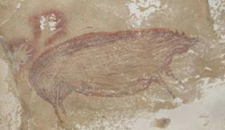 Peneliti Memperkirakan Temuan dalam Gua Leang, Sulawesi Lukisan Purbakala Tertua di Dunia