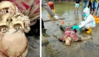 Nelayan Rupat Geger, Menemukan Mayat Sudah Jadi Tengkorak dengan Identitas Malaysia