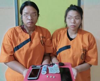 Dua Wanita Penikmat Inek Diringkus Polisi Inhu