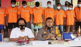 Polisi Tangkap Ketua Gerindra Bengkalis Terkait Terlibat Narkoba