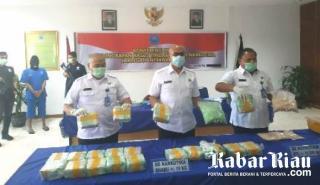 BNN Riau Ungkap Sepak Terjang Kurir Narkoba, Tersangka; SMP Saja Saya Tak Tamat